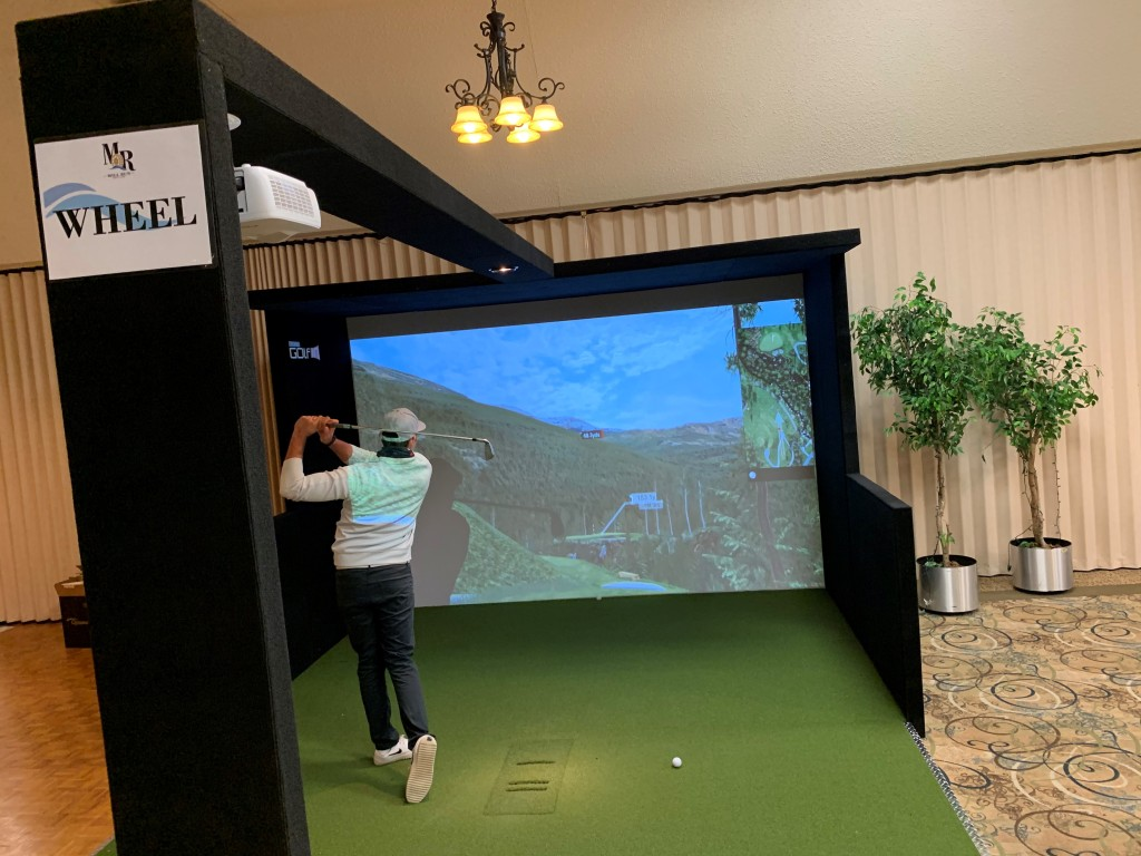 golf simulator mill run